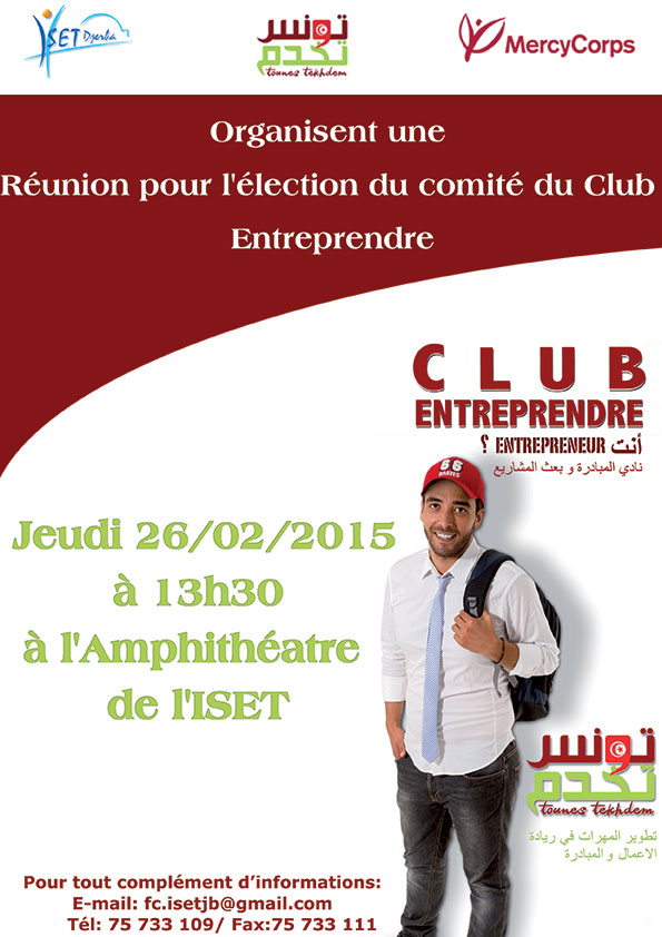 Election du comité du Club Entreprendre