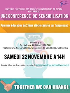 Conférence de sensibilisation : Pour une éducation du 21ème siècle centrée sur l'apprenant